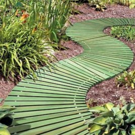 Best garden walkway to envy your visitor 26