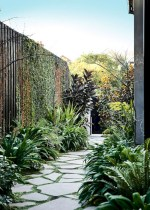 Best garden walkway to envy your visitor 29