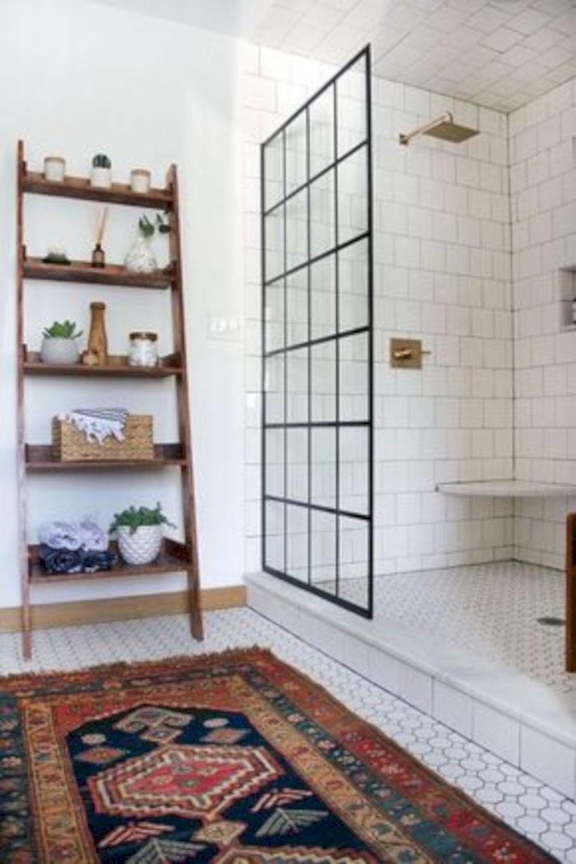 Best modern vintage bathroom reveal 27