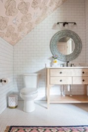 Best modern vintage bathroom reveal 28