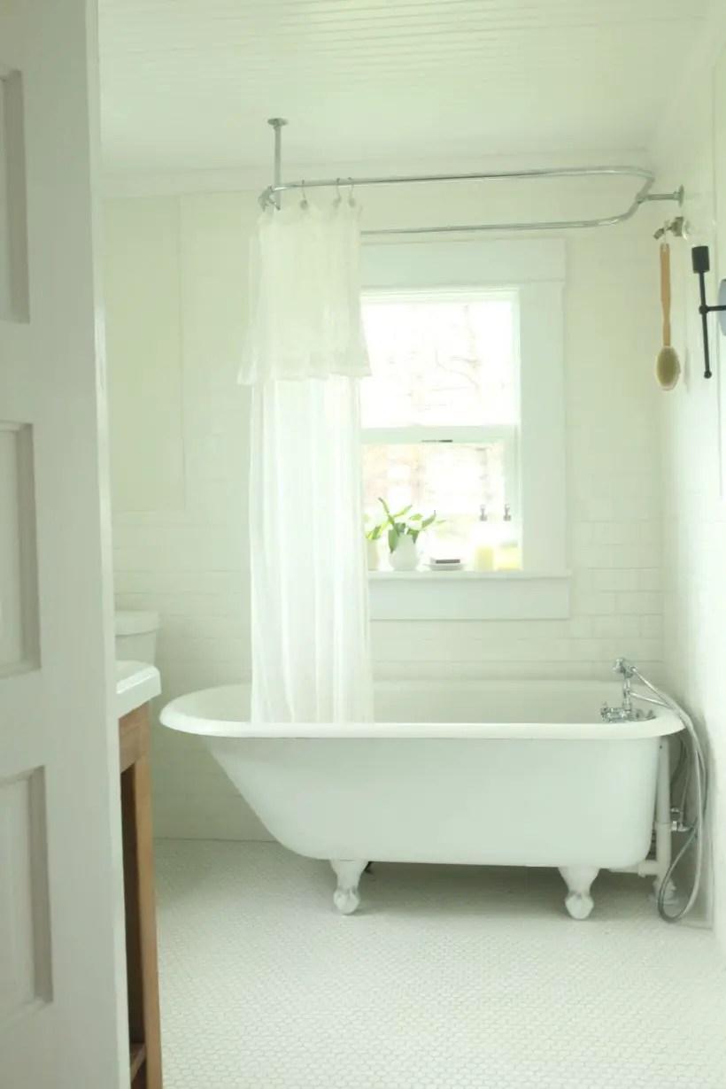 Best modern vintage bathroom reveal 36