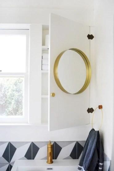 Best modern vintage bathroom reveal 48