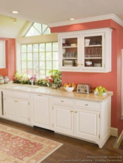 Charming custom kitchens cabinets designs 02