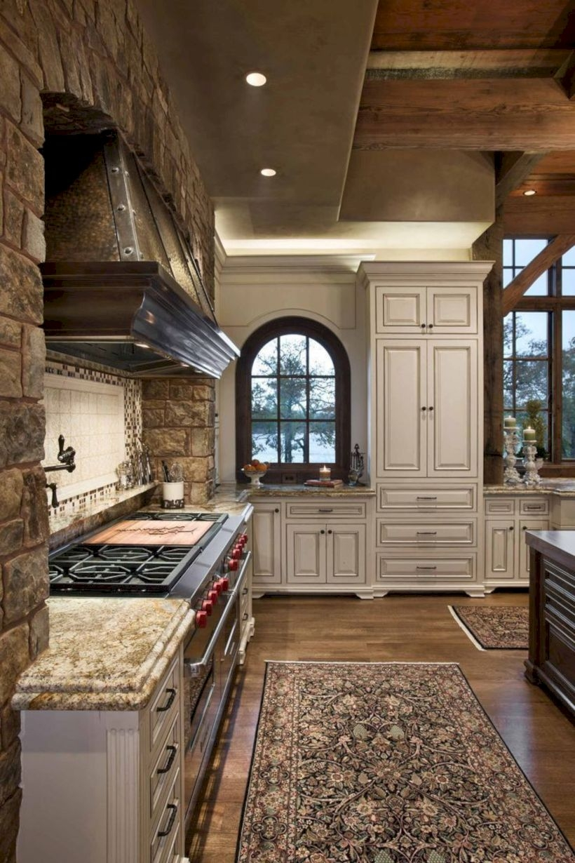 Charming custom kitchens cabinets designs 05