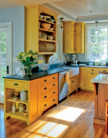 Charming custom kitchens cabinets designs 21