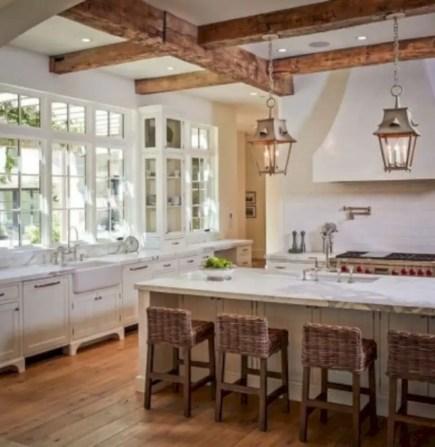 Charming custom kitchens cabinets designs 33