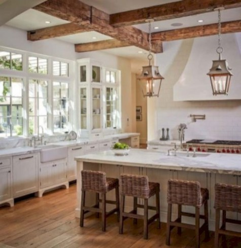 Charming custom kitchens cabinets designs 33