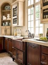 Charming custom kitchens cabinets designs 37