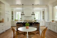 Charming custom kitchens cabinets designs 42