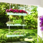 Charming outdoor hanging planters ideas to brighten your yard 16