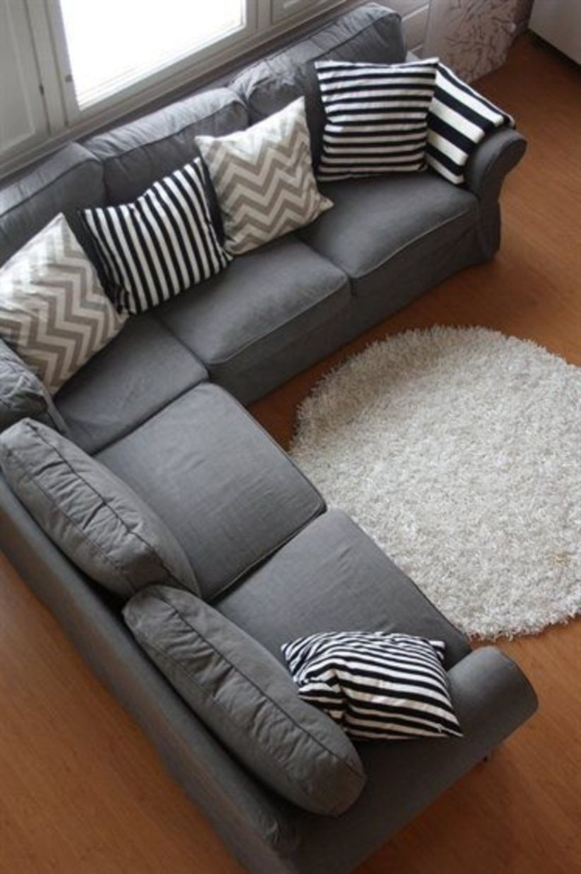 Comfortable sectional sofa for your living room 39