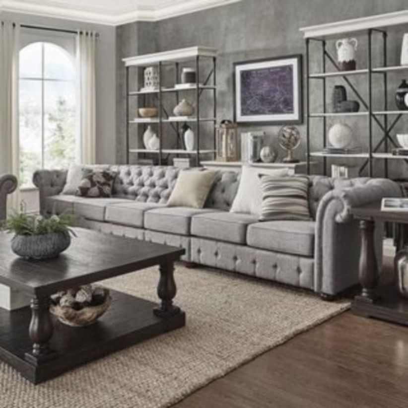 Comfortable sectional sofa for your living room 44
