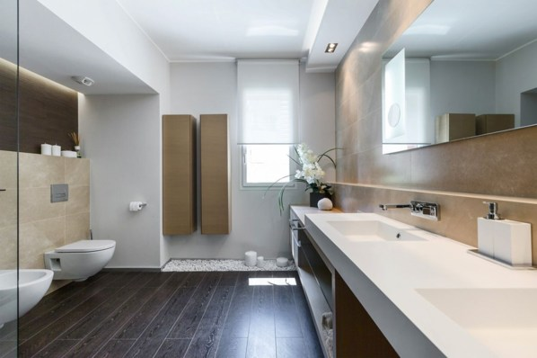 Creative bathroom with soft stone floor to massage your feet 07