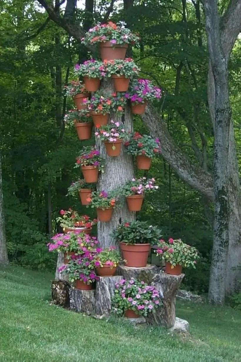 Creative garden potting ideas 14