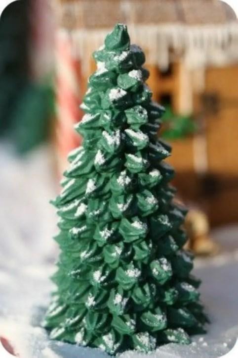 Diy christmas cone trees 07