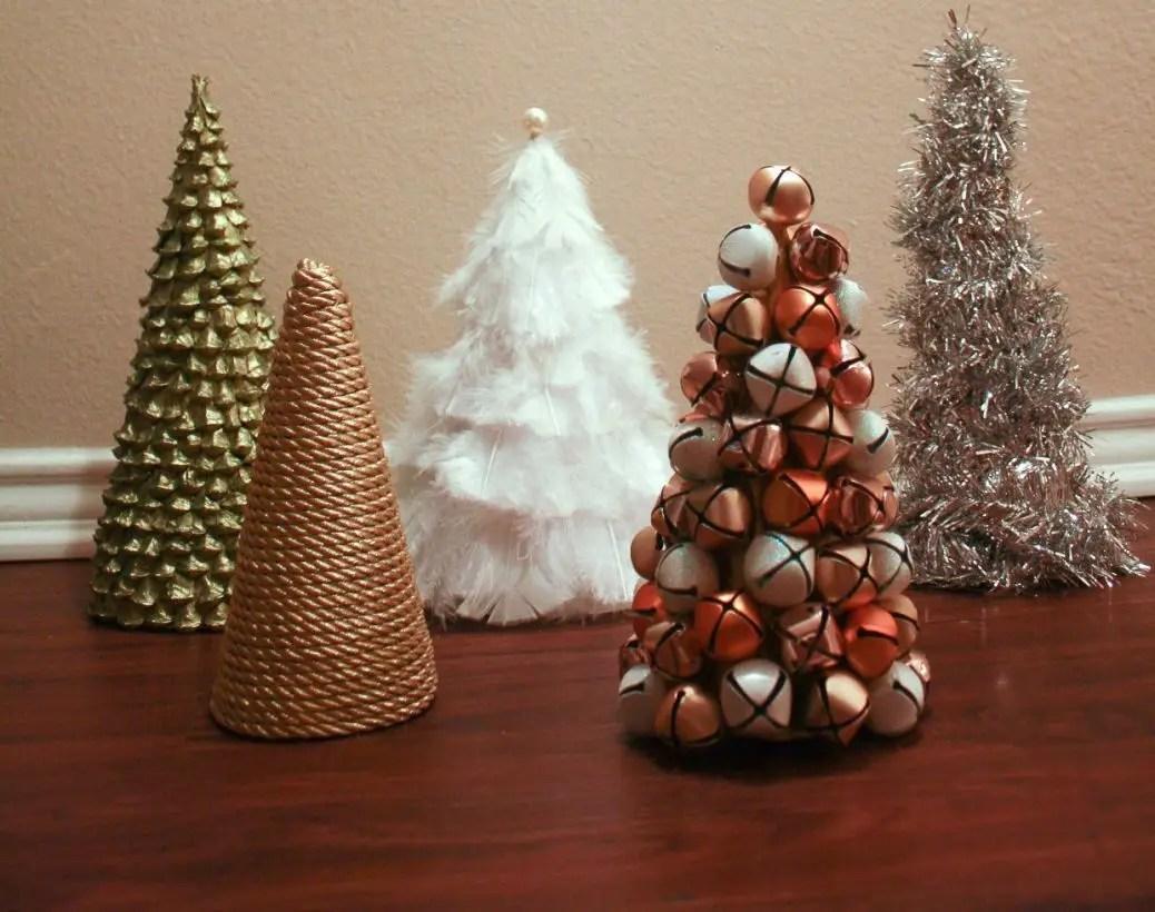 Diy christmas cone trees 24