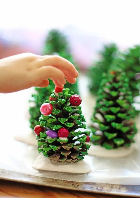Diy christmas cone trees 43
