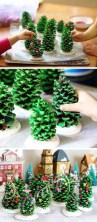 Diy christmas cone trees 44