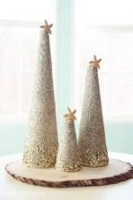 Diy christmas cone trees 46