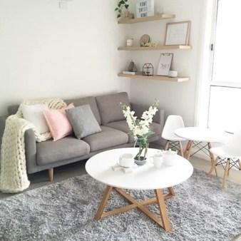 Diy wall shelves ideas for living room decoration 29