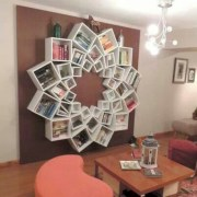 Diy wall shelves ideas for living room decoration 40