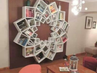Diy wall shelves ideas for living room decoration 40