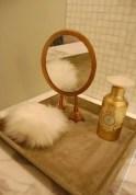 Easy diy footed vanity tray 04