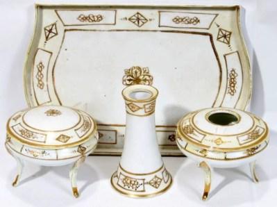 Easy diy footed vanity tray 16