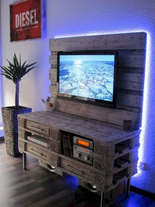 Easy pallet furniture projects for beginners 20