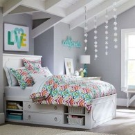 Easy and clever teen bedroom makeover ideas 04
