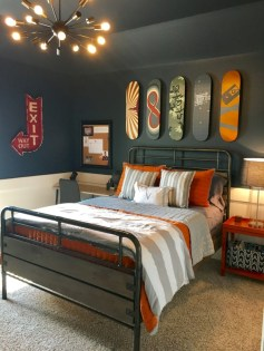 Easy and clever teen bedroom makeover ideas 08