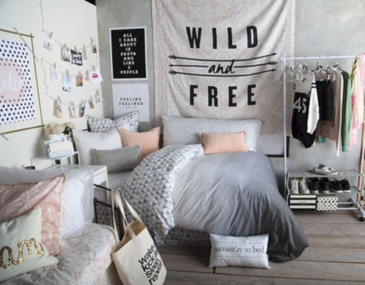Easy and clever teen bedroom makeover ideas 18