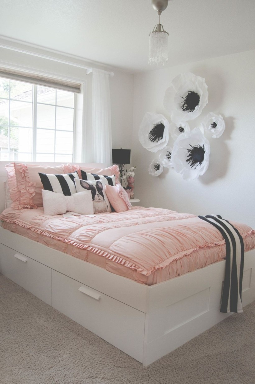 Easy and clever teen bedroom makeover ideas 27