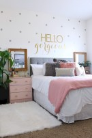 Easy and clever teen bedroom makeover ideas 41