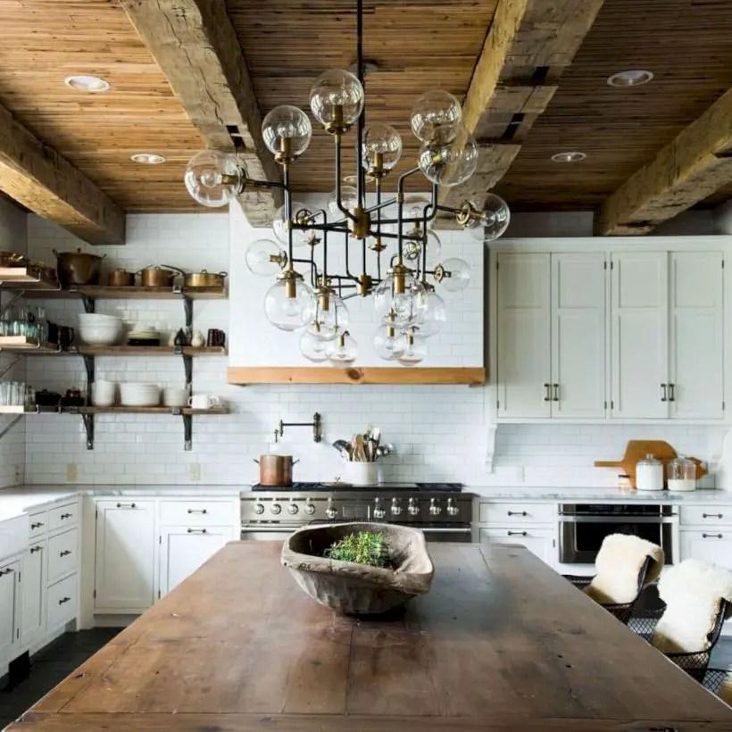 Fabulous small kitchen ideas with farmhouse style 29