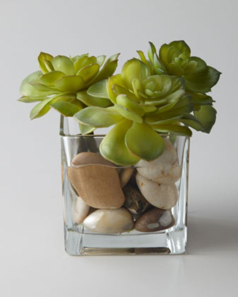Faux cactus and succulent projects and ideas to decorate your home 25