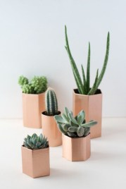 Faux cactus and succulent projects and ideas to decorate your home 28