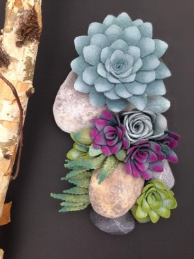 Faux cactus and succulent projects and ideas to decorate your home 31