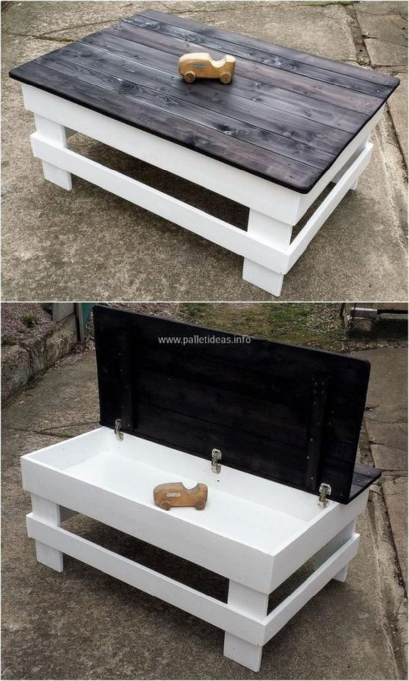 Furniture pallet projects you can diy for your home 10