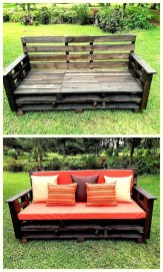 Furniture pallet projects you can diy for your home 28