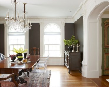 High ceilings accent wall with traditional and classic look 43