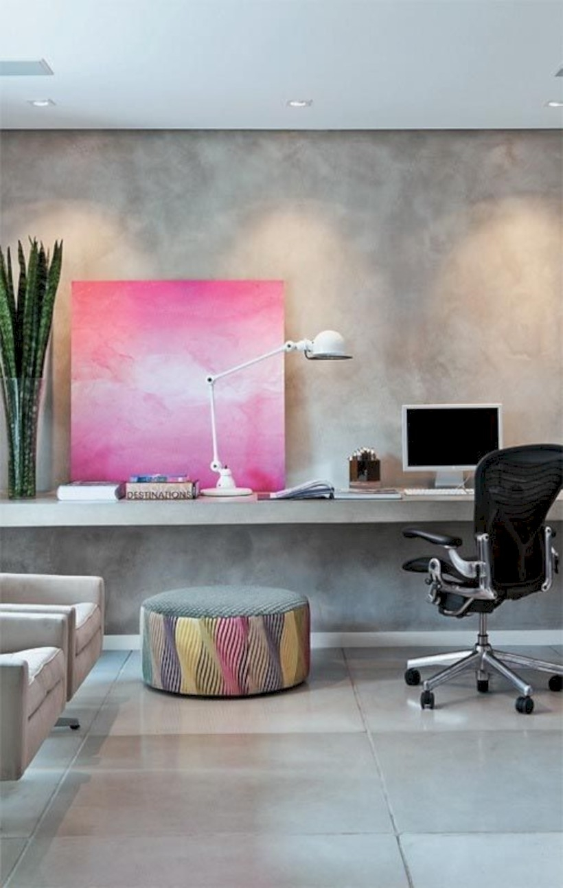 Neat and clean minimalist workspace design ideas for your home 01