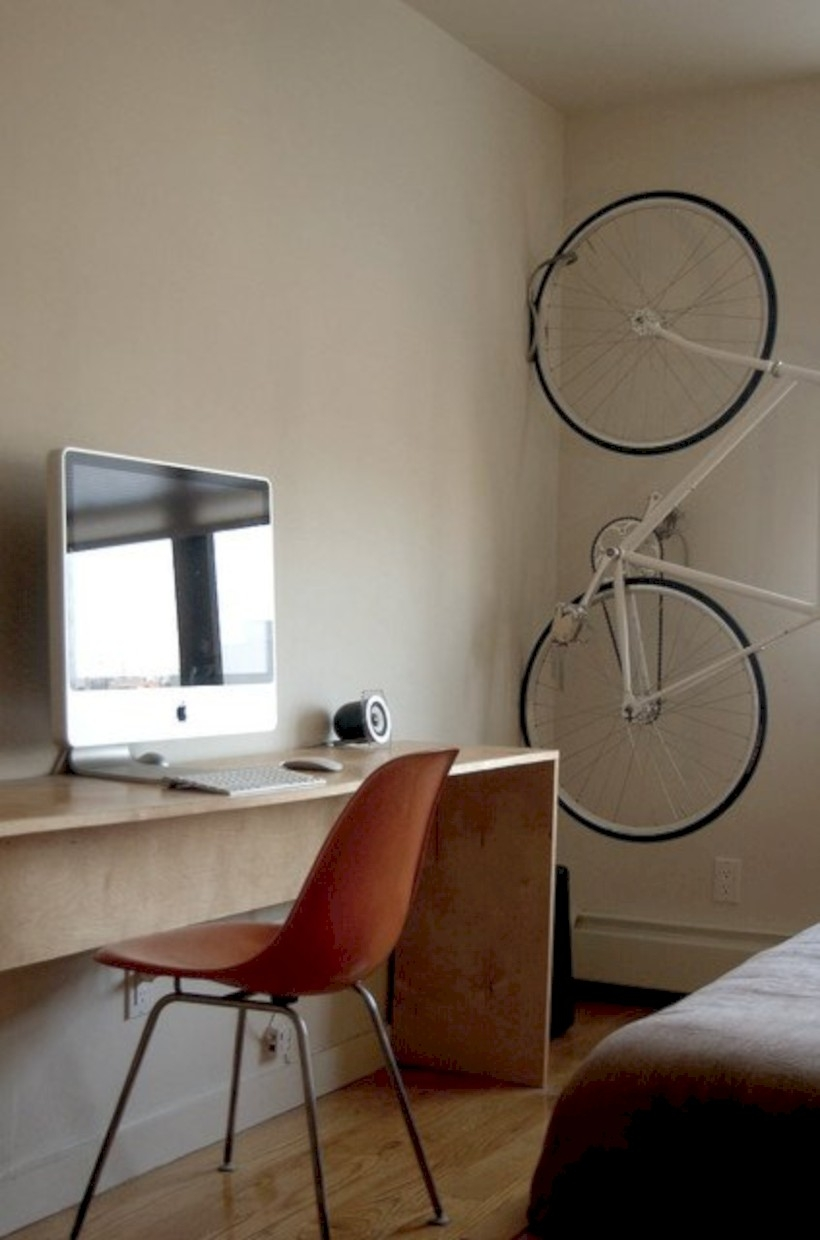 Neat and clean minimalist workspace design ideas for your home 31