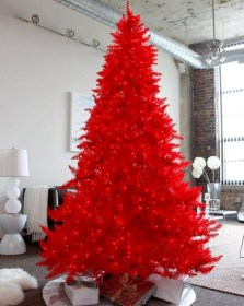 Non-traditional christmas tree to give to your home 05