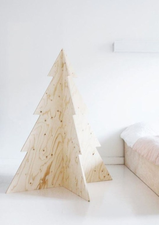 Non-traditional christmas tree to give to your home 11