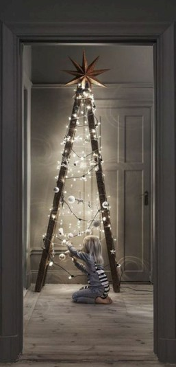 Non-traditional christmas tree to give to your home 12