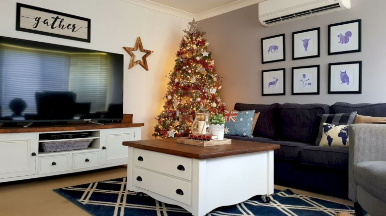 Non-traditional christmas tree to give to your home 40