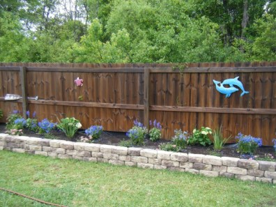 Outdoor garden decor landscaping flower beds ideas 20