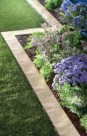Outdoor garden decor landscaping flower beds ideas 46