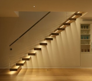Painted staircase ideas which make your stairs look new 02